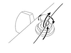 Фиксация струны